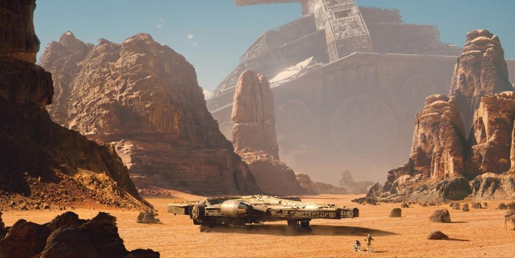 Desert Star Wars Ships
