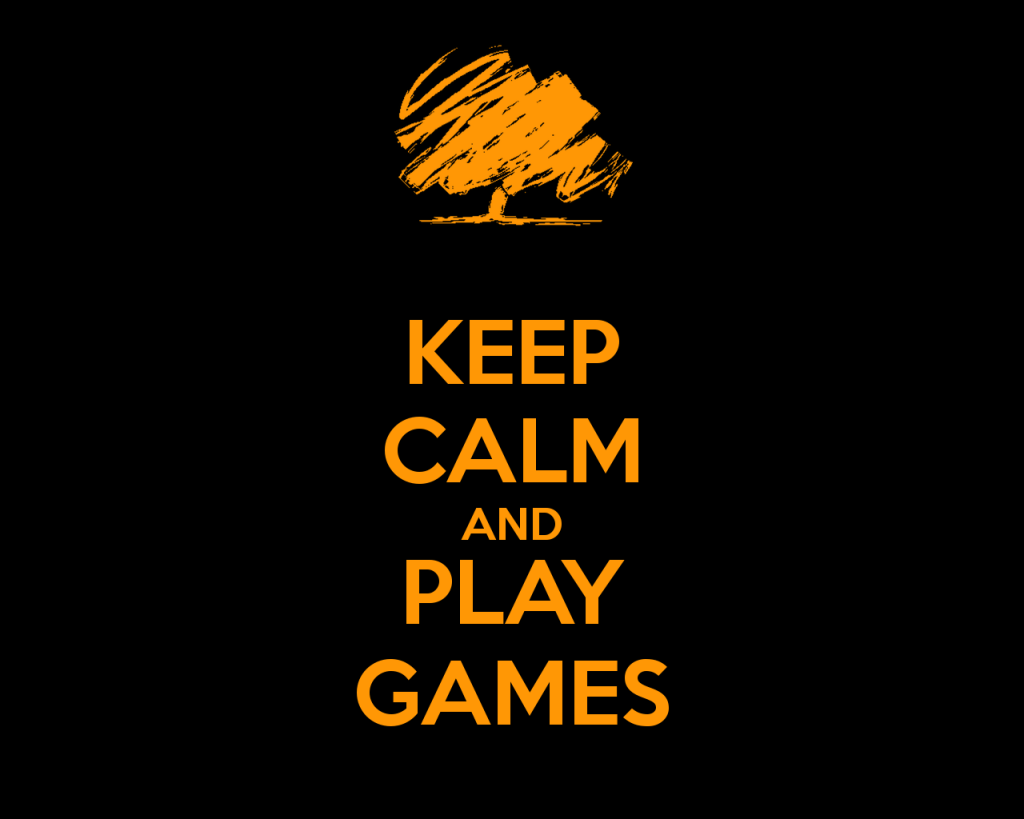 Keep Calm Play Games