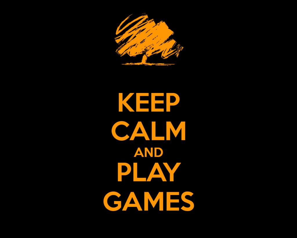 Keep Calm Play Games