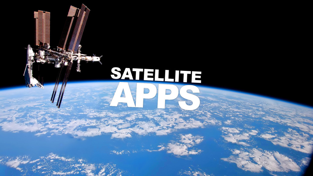Satellite Apps Wallpaper